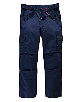 Jacamo Navy Carson Cargo Pant Regular