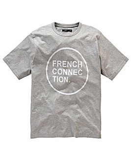 French Connection Circle Logo T-Shirt