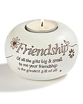 Friendship Tea Light Holder