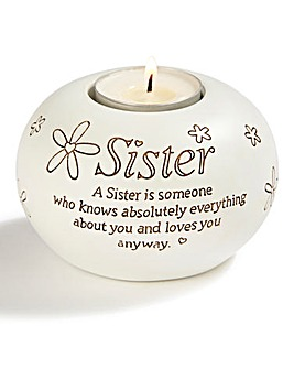 Sister Tea Light Holder
