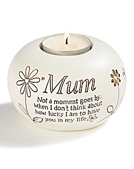 Mum Tea Light Holder