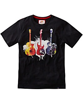 Joe Brown Explosive Guitar T-Shirt Long
