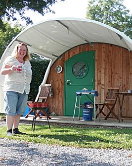 Two Night Luxury Camping Cabin Somerset