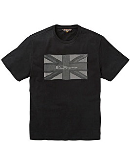 Ben Sherman Union Jack T-Shirt R