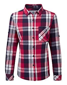 Tog24 Rowena Ladies Flannel Ls Shirt