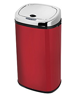 Morphy Richards 42 Litre Sensor Bin Red