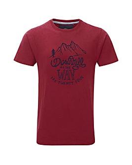 Tog24 Galaxy Mens T-shirt Downhill