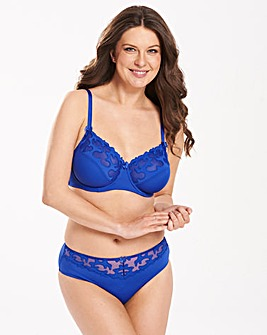 2 Pack Emily Minimiser Blue/Blush Bras