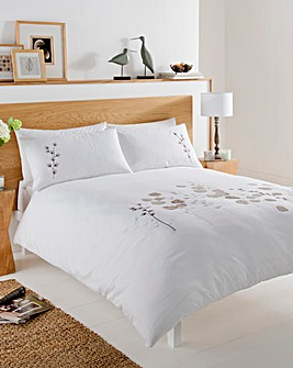 Honesty Embroidered Duvet Cover Set