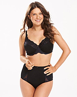 Ruby Full Cup Black Bra