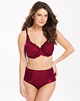 Ruby Full Cup Wine Bra