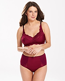 Ruby Wine Minimiser Bra