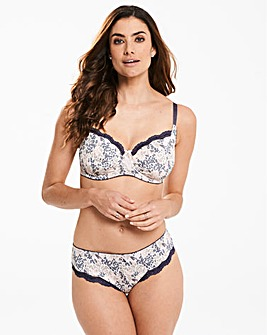 2 Pack Sophie Full Cup Grey/Print Bras