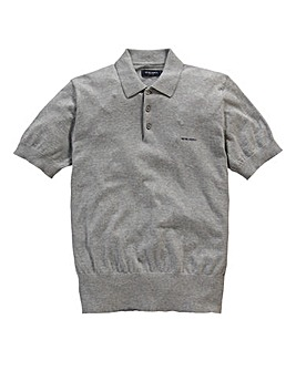 Peter Werth Short Sleeve Knitted Polo