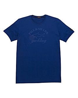 Paul & Shark Mighty Tonal Logo T-Shirt