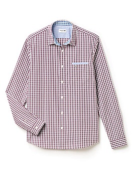 Lacoste Tall Check Shirt