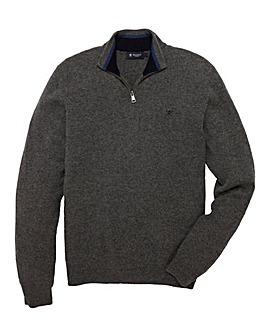Hackett Mighty Half-Zip Knitwear