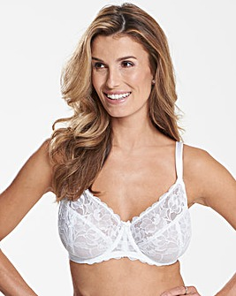 Ivy Full Cup White Bra