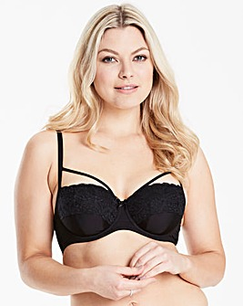 Carrie Strappy Balcony Bra