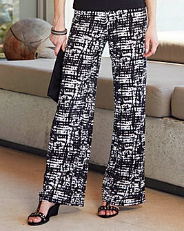 Nightingales Print Trousers