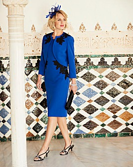 Nightingales Applique Dress And Jacket