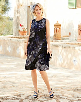 Nightingales Floral Print Dress
