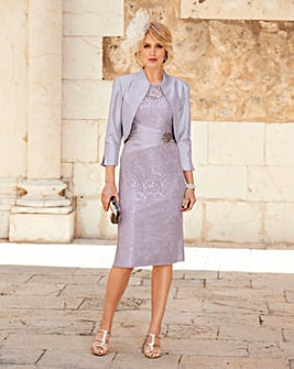 Nightingales Lace Dress And Jacket