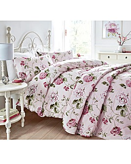 Christy Hydrangea Duvet Cover Set