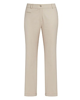 JOANNA HOPE Chino Capri Trousers 25in