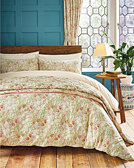 Golden Lily Duvet Cover Set