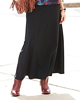 JOANNA HOPE Ponte Maxi Skirt