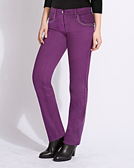 Top to Toe Stretch Twill Trousers 27in