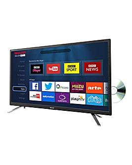 Sharp 24in Smart LED TV/DVD Combi