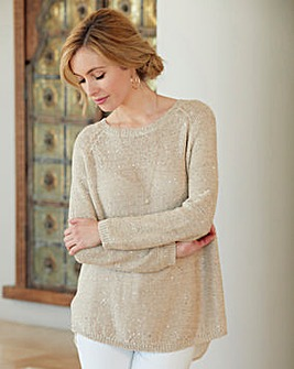 Nightingales Sequin Jumper