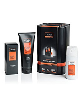 Lynx Trio Edition Adrenaline Gift Set
