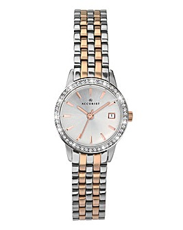 Accurist Ladies Two Tone Bracelet Watch