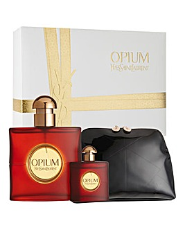 YSL Opium 50ml EDT & Pouch Gift Set