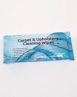 Upholstery and Carpet Wipes Pack of 3
