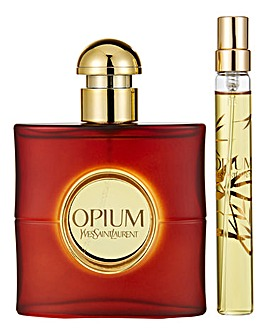 YSL Opium 50ml EDT & 10ml EDT Gift Set
