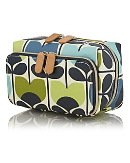 Orla Kiely Climbing Rose Medium Wash Bag