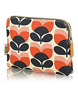 Orla Kiely Flower Stripe Cosmetic Bag