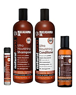 Natural World Macadamia Ultra Hair Set