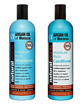Argan Oil Shampoo & Conditioner Set