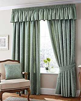 Damask Door Curtain