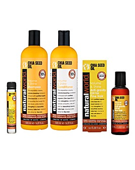 Chia Seed Volume & Shine Hair Care Set