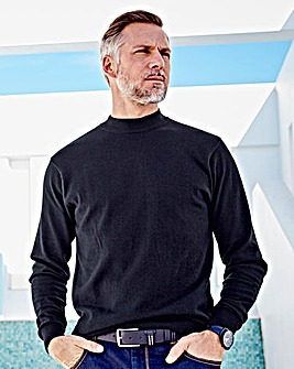 WILLIAMS & BROWN High Neck Jumper