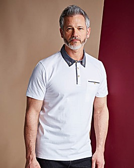 WILLIAMS & BROWN Short Sleeve Polo Shirt