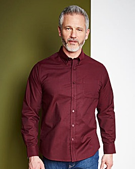 WILLIAMS & BROWN Oxford Shirt Long