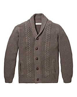 WILLIAMS & BROWN Button Cardigan
