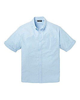 Capsule Blue S/S Oxford Shirt L